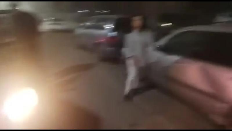Пьяная девушка-водитель совершила ДТП в Бишкеке