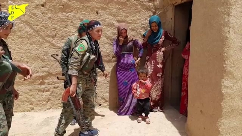 Операция СДС по освобождению района Даишиша от ИГИЛ