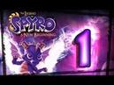 The Legend of Spyro A New Beginning Walkthrough Part 1 PS2, Gamecube, XBOX Swamp