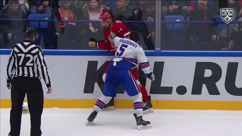 Бой КХЛ: Головков VS Рукавишников