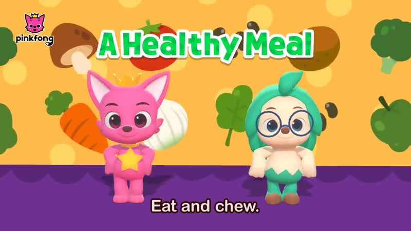 A Healthy Meal Eating Healthy Dance Dance Pinkfong Songs for Children