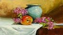 Gouache Still Life Painting By Yasser Fayad