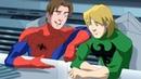 Великий Человек Паук Все серии подряд Сборник мультфильмов Marvel о супергероях Сезон 1 Серии 5 8