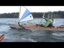 Sea Kayak Sailing in Oregon