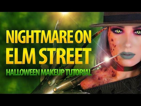 ❤️ A Nightmare On Elm Street   SFX Glam Edition   Halloween Makeup Tutorial   Victoria Lyn Beauty