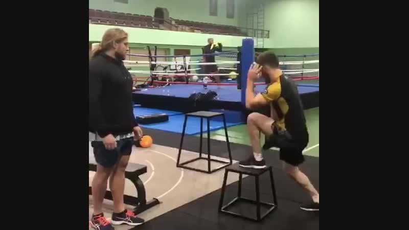 Абдул-Азиз Абдулвахабов - тренировка