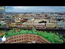 St. Petersburg from a birds eye view in 4k(UltraHD) by drone