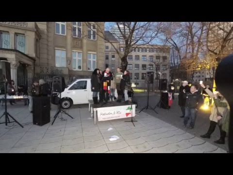 Demo - Kundgebung - N O W A Y – EUROPE IS NOT YOUR HOME! – Migrationspakt stoppen – in Düsseldorf