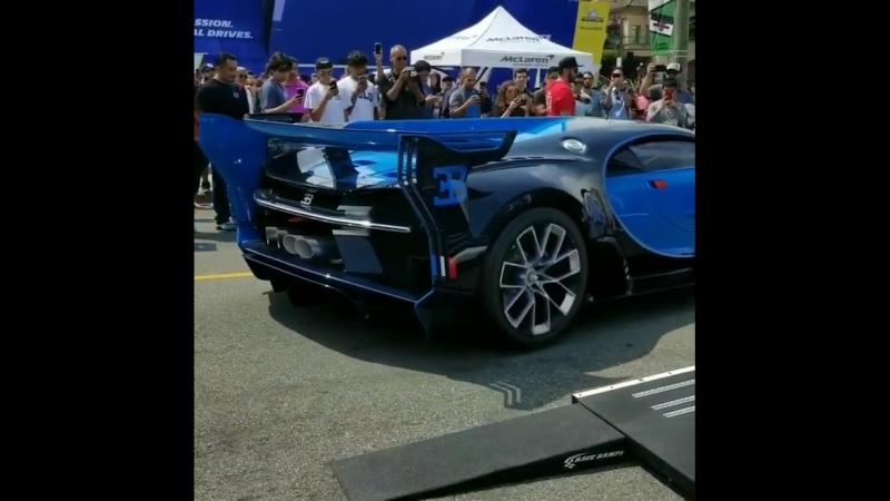 Bugatti's amazing Vision GT!