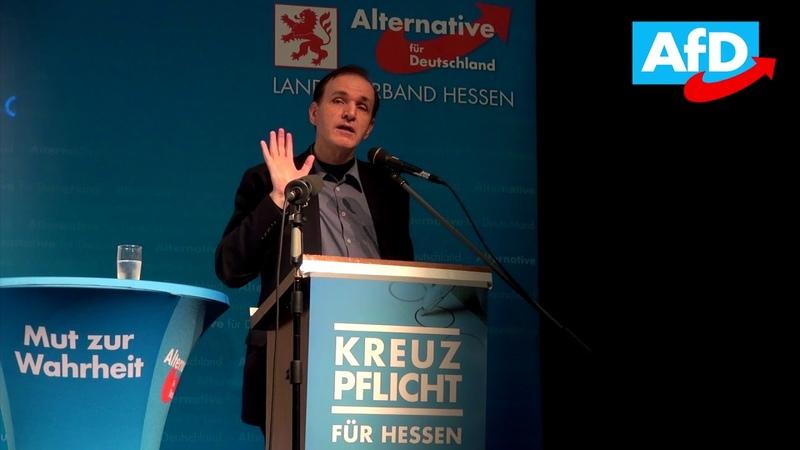 Rede von Gottfried Curio in Kirchhain