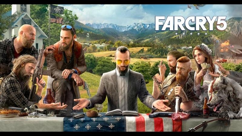 Far Cry 5: За райскими вратами 2018 HD