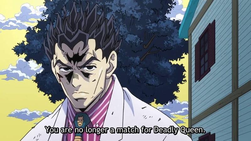 JJBA Diamond is Unbreakable - Kira Protects Shinobu