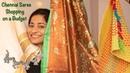 Sarees on a budget | T nagar shopping haul | Chennai Haul | Zoha Khan