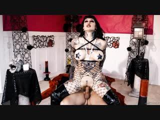 Jessie lee [pornmir, порно вк, new porn vk, hd 1080, punk porn, big tits, goth girl, fishnets, fake tits]