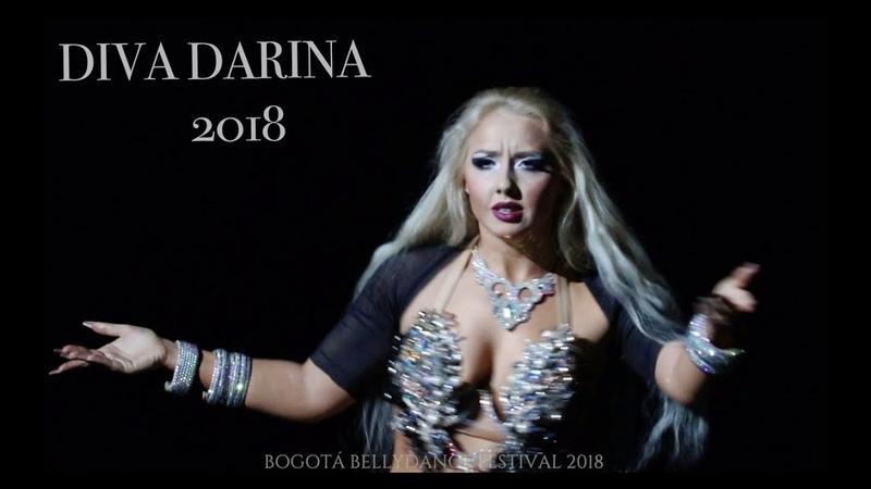 NEW! DIVA DARINA Pop-song ANA MEIN-WHO I AM   Colombia, Bogota 2018