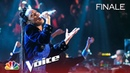 Kennedy Holmes Lights Up the Stage with a Fiery Confident Cover - The Voice 2018 Live Finale