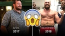 400lb to 250lb The story behind Tyson Fury's transformation is incredible
