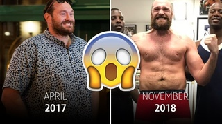 400lb to 250lb: The story behind Tyson Fury's transformation is incredible
