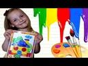 ♕ Волшебные Контуры❤Учимся Красиво Раскрашивать❤ Детский канал Леди Ди