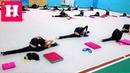 ВЛОГ 1 День на КАНИКУЛАХ гимнастки Николь / Групповая тренировка