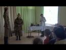 Эпизод из спектакля Письма православного театра Радуйся