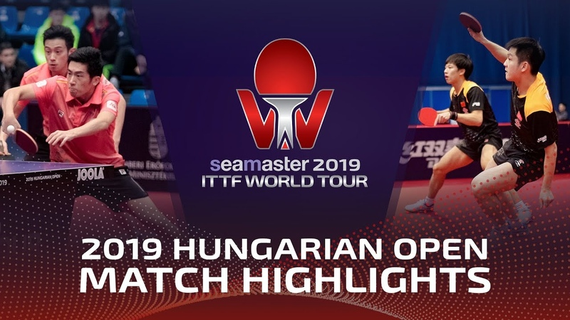 Fan ZhendongLin Gaoyuan vs Wong Chun TingLam Siu Hang | 2019 Hungarian Open Highlights (14)