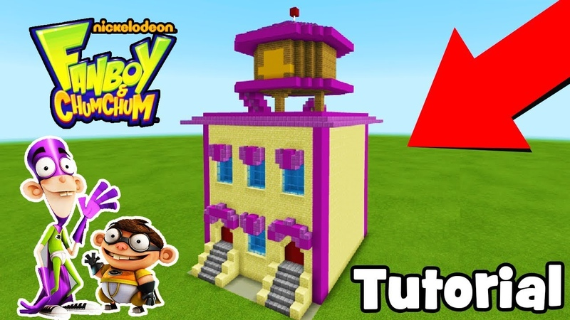 Minecraft Tutorial How To Make The Fanlair Fanboy Chum Chum