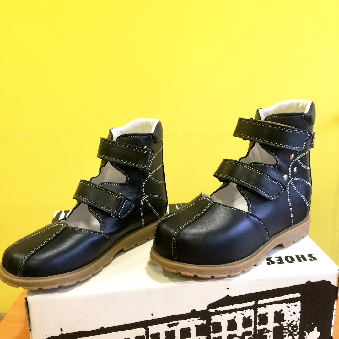 На фото туфли с укорочением 2 см, размер - 31.
