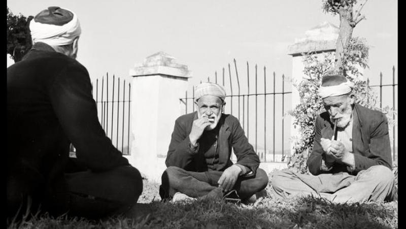Крымскотатарские мужчины отпускали бороду только после 40 лет