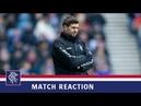 REACTION Steven Gerrard Rangers 3 2 HJK Helsinki