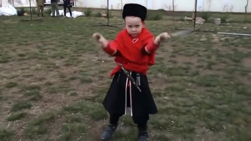 Маленькому Казаку 5 лет Линейная казарла в г Кропоткине