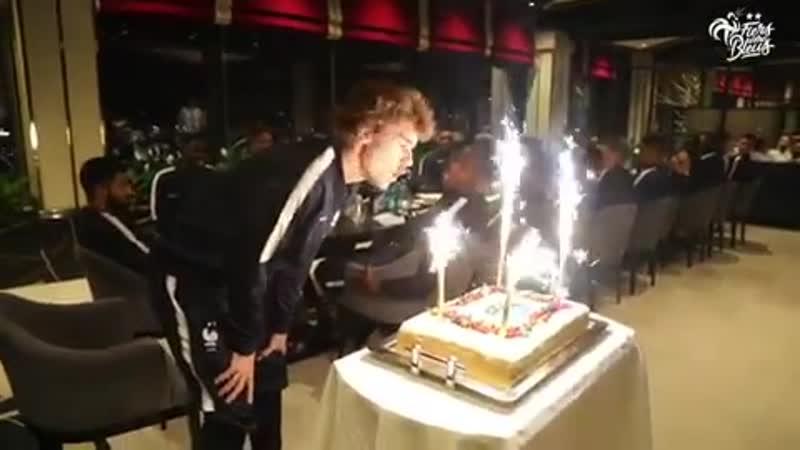 Joyeux anniversaire Antoine Griezmann