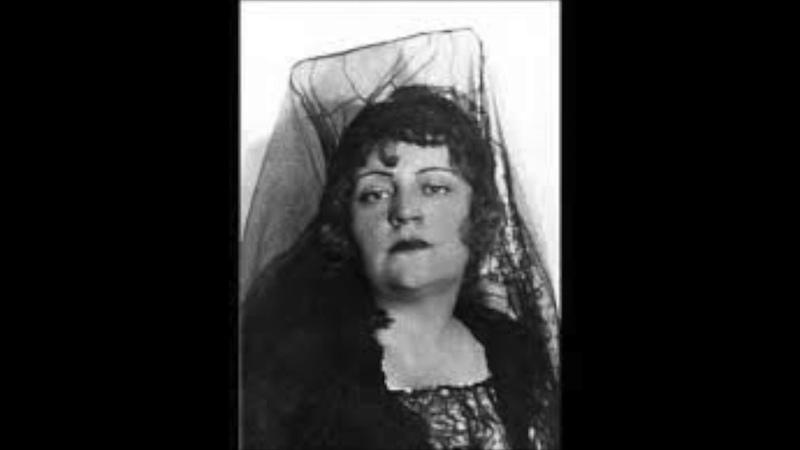 Maria Nemeth; In questa reggia; (Sung in German); Turandot; Giacomo Puccini