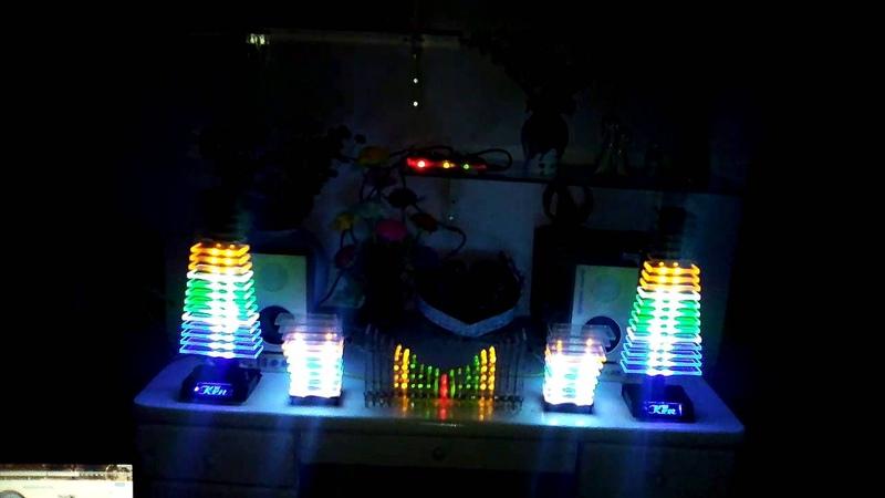 Индикатор уровня сигнала или классная светомузыка