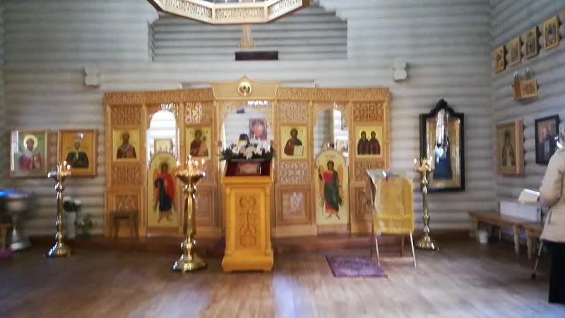 День памяти Апостола Фомы в Храме Кирилла и Марии на Планерной 19-10-2018