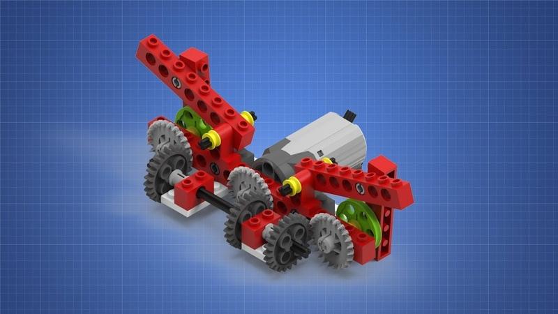 Модель Крылья. Инструкция по сборке. LEGO WeDO.