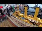 IG. Kaiserliche Marine ~ Modellbahn Hafen Intermodellbau 2018 NEU 4k