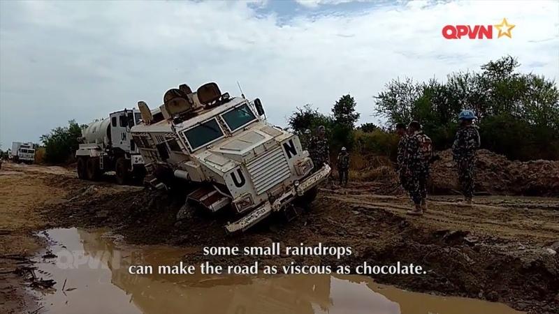 Xe cứu thương bọc thép VN làm nhiệm vụ gìn giữ hòa bình ở Nam Sudan - Đối ngoại Quốc phòng