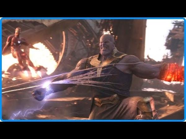 Мстители Война Бесконечности 2018 - лучшие моменты, лучшие боевые сцены [4/5] HD Bluray