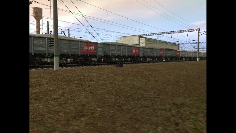 ВЛ11 554 станция Узуново