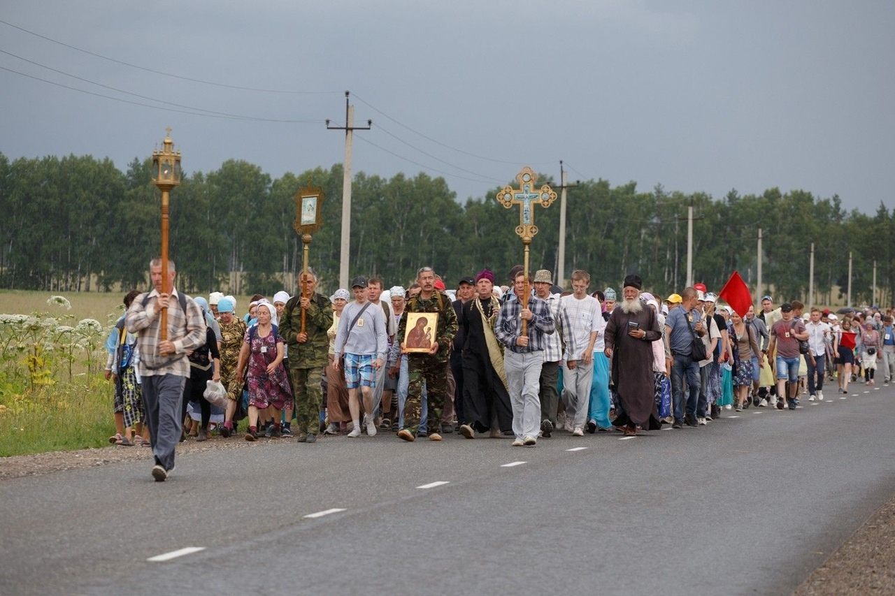 Завтра, 24 июня, стартует традиционный крестный ход до Раифского монастыря.