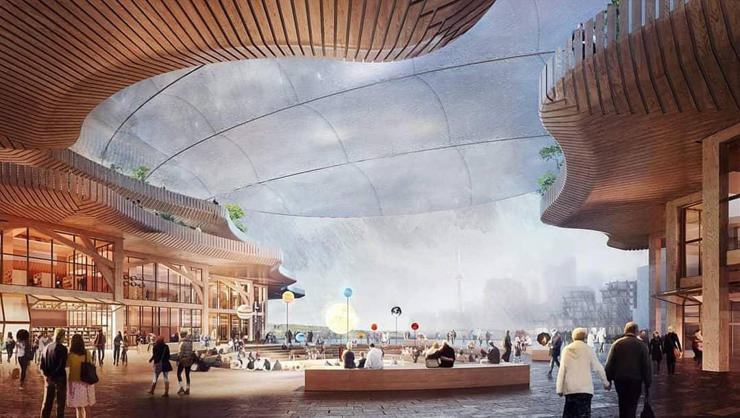 Появились фотографии города будущего от Google