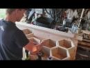How To make Hexagonal _ Honeycomb Shelves