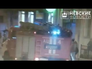 Работа экстренных служб в антикафе на Измайловском проспекте попала на видео