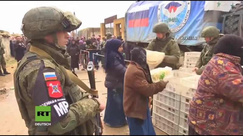 Syrien 🇸🇾 Humanitäre Operation der russischen Streitkräfte geht weiter