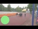 Вторая трен по лег атлетике и снова дождь А наши бойцы молодцы