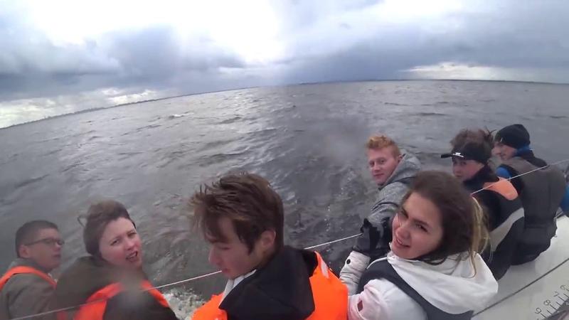 Морские волки и волчата на борту AURORA BOREALIS