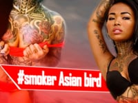 Asian Birds - Tattooed Princess