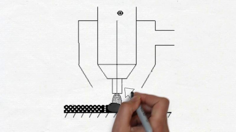 Импульсно дуговая наплавка с подогревом электродной проволоки током паузы