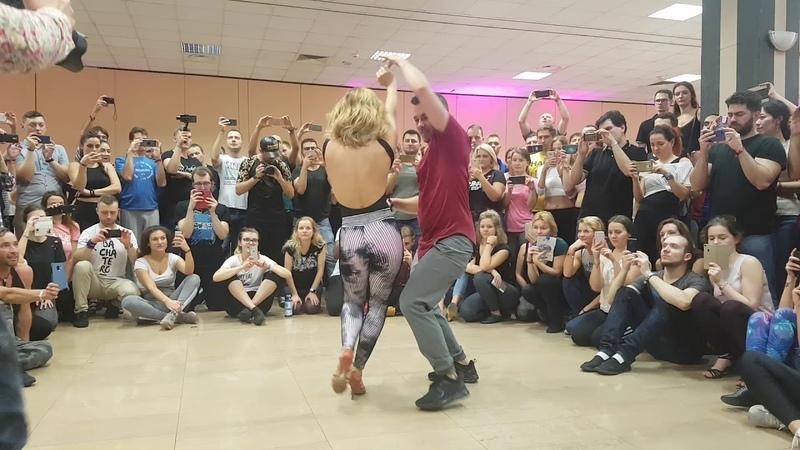 Korke y Judith Bachata Sensual/El Sol Warsaw Salsa Festival 2018/ Dustin Richie[Palabras Que Matan]